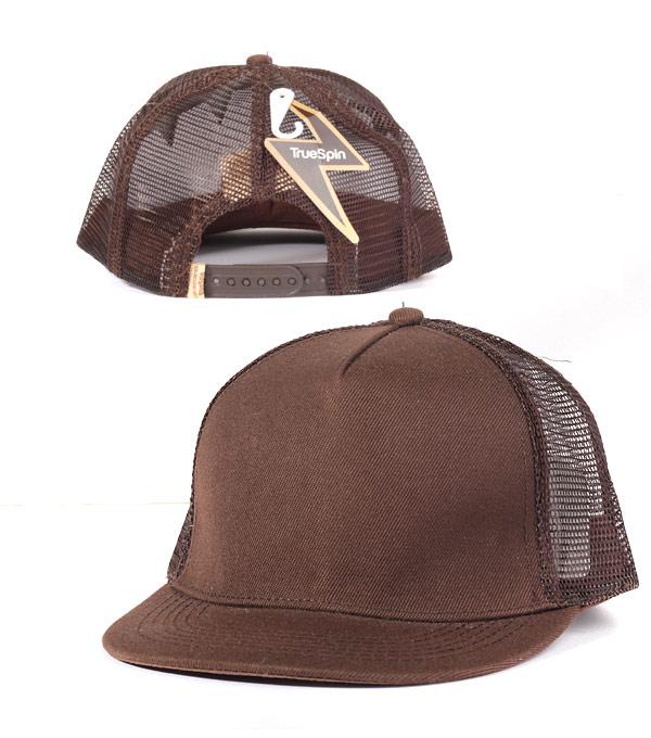 Кепка с сеткой TrueSpin tr brown.