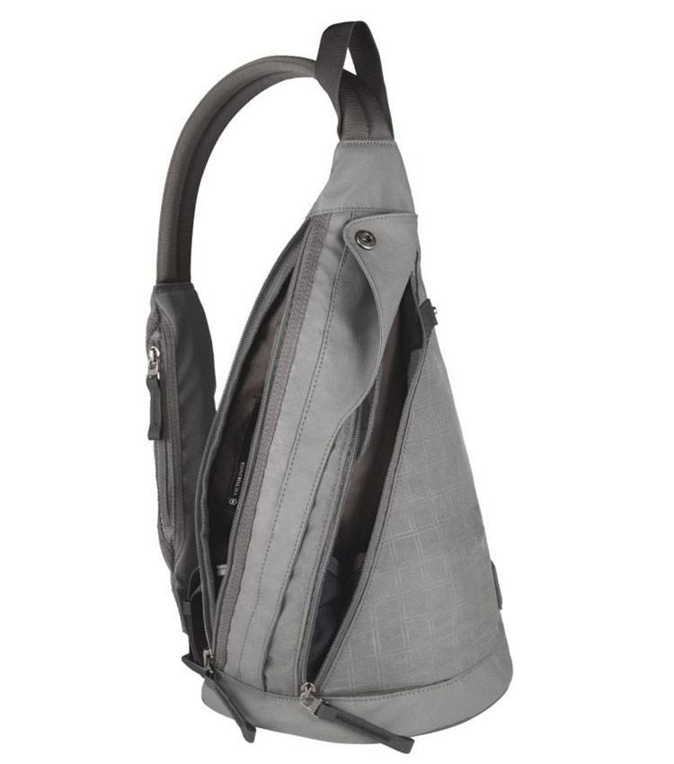 Рюкзак на одной лямке Victorinox Monosling grey
