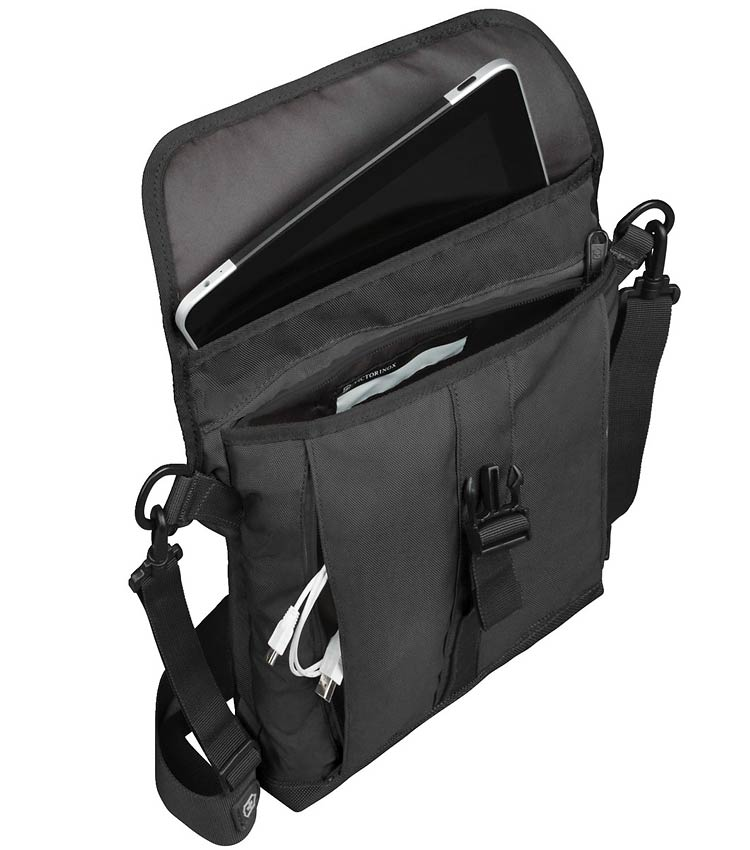 Сумка плечевая Victorinox Flapover Bag black