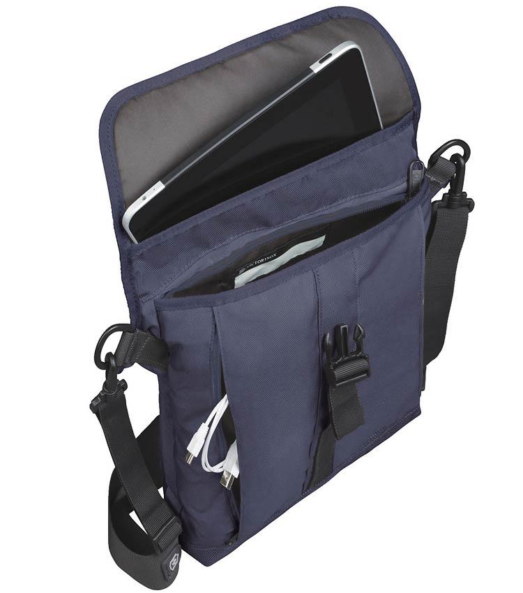 Сумка плечевая Victorinox Flapover Bag navy