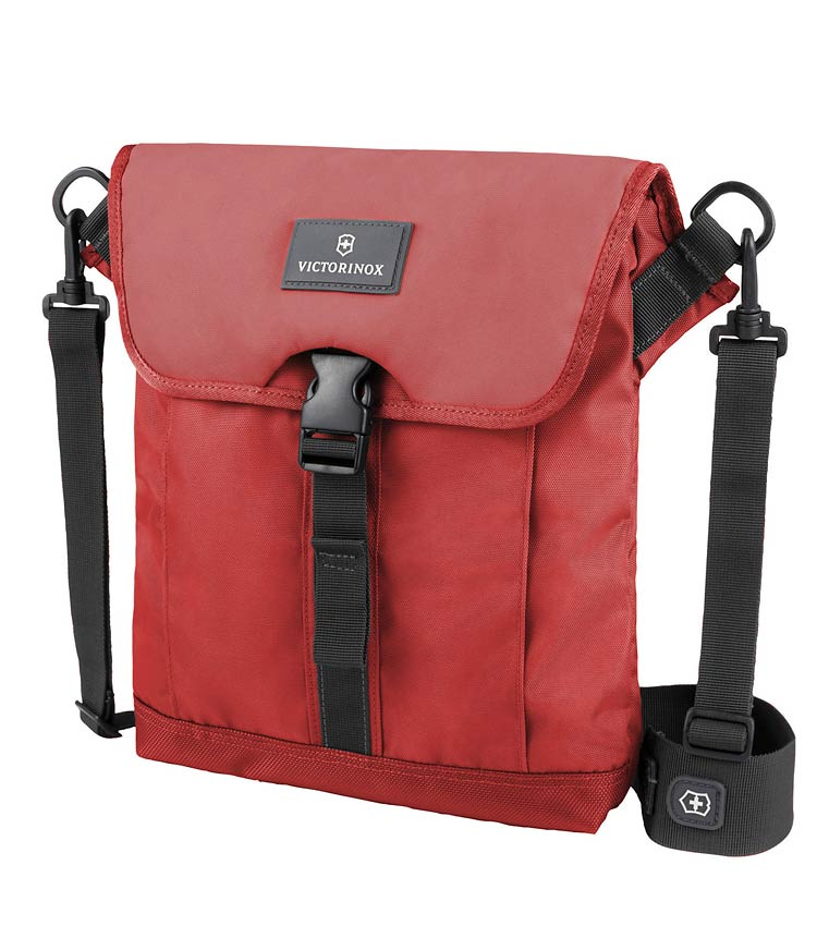 Сумка плечевая Victorinox Flapover Bag red