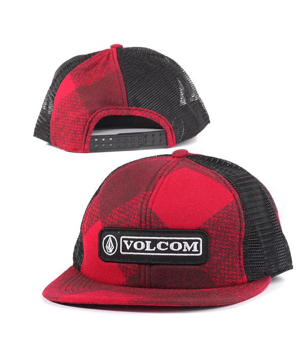 Кепка Volcom red