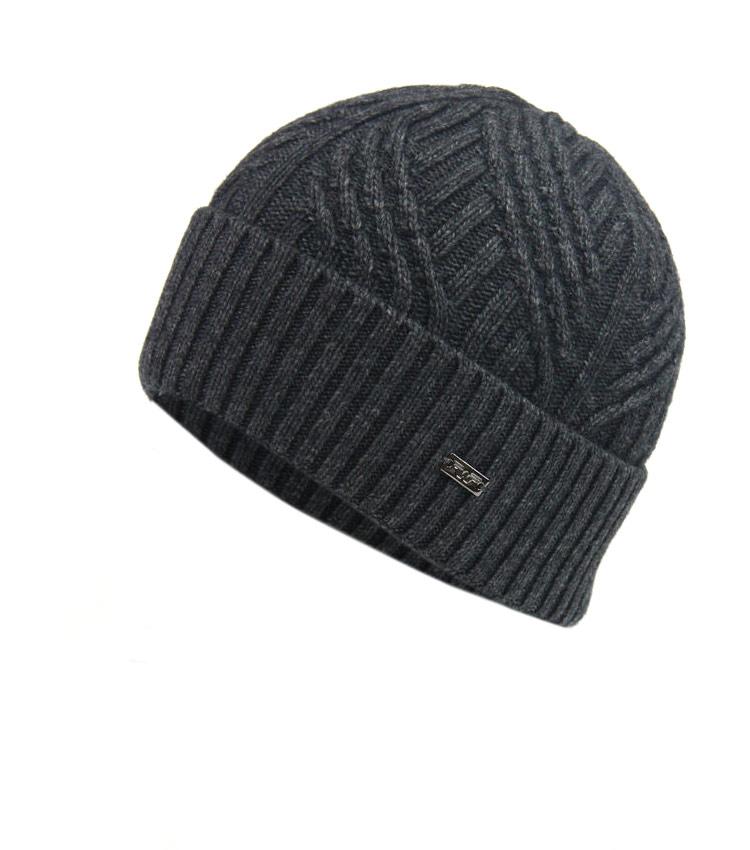 Мужская шапка WAG Топ244 antracyt
