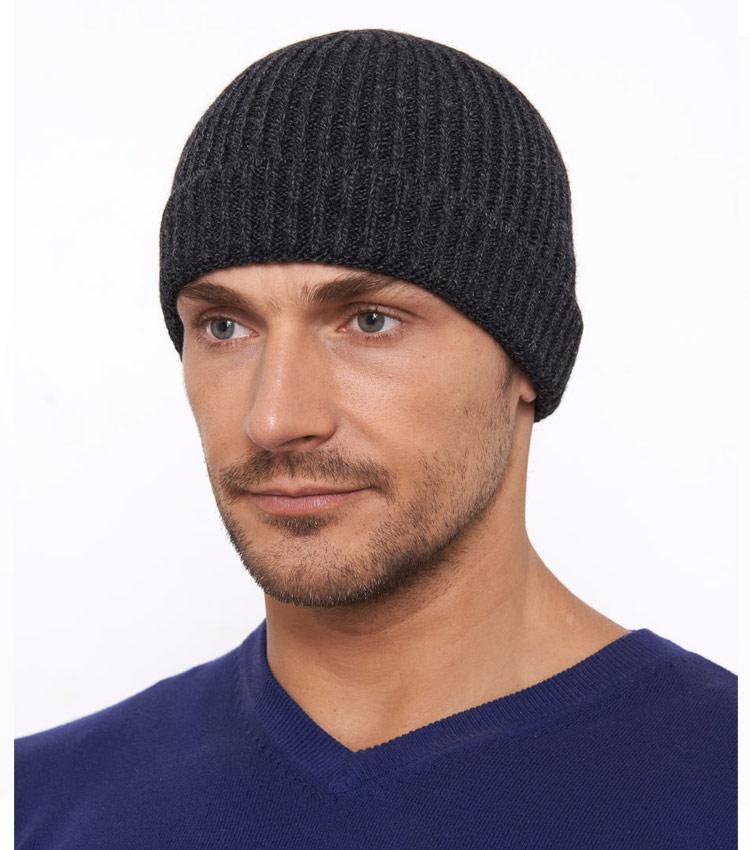 Мужская шапка WAG Топ43 black