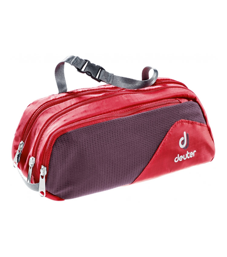 Несессер Deuter Wash Bag Tour II fire-aubergine