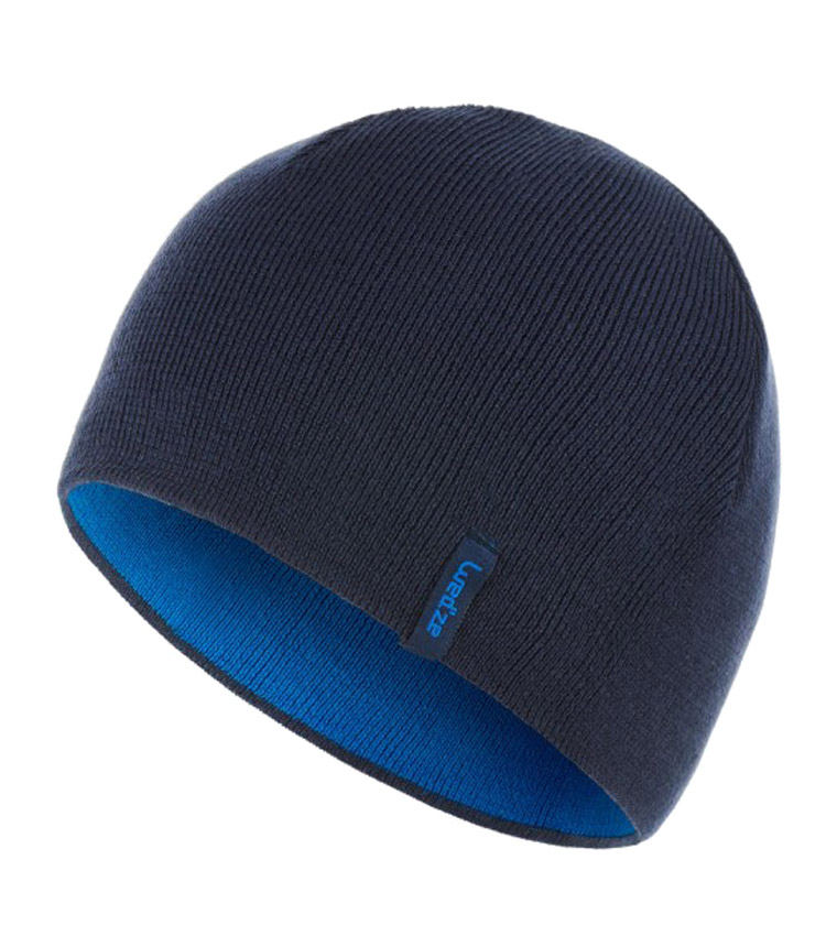 Шапка двухсторонняя WEDZE REVERSE blue-blue graphite