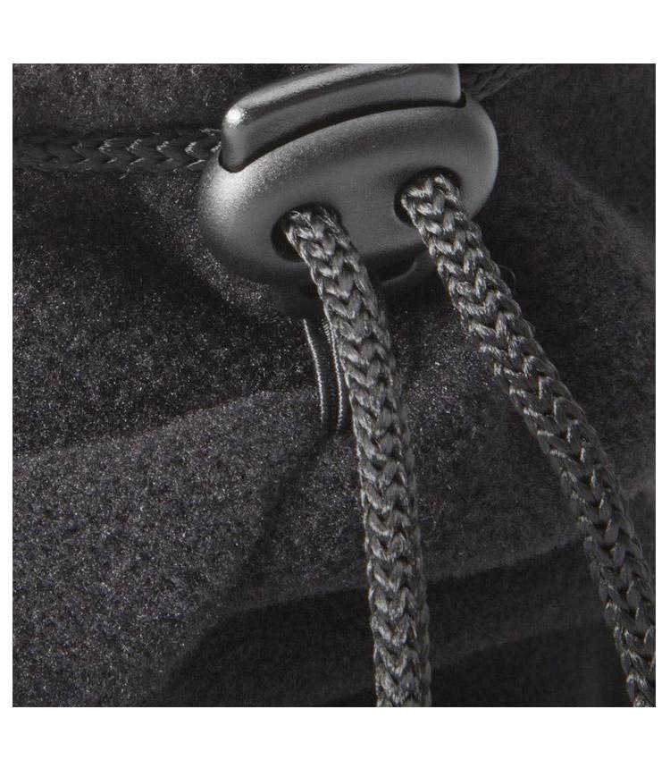 Шарф-воротник на завязке WEDZE black