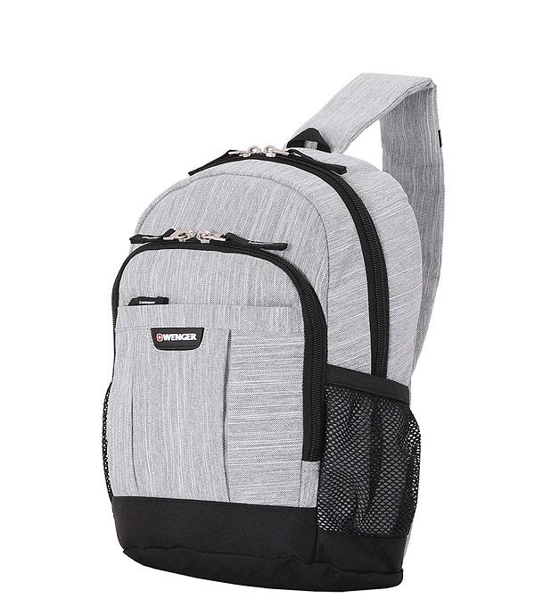 Рюкзак на одной лямке Wenger 2610424550 13 grey heather