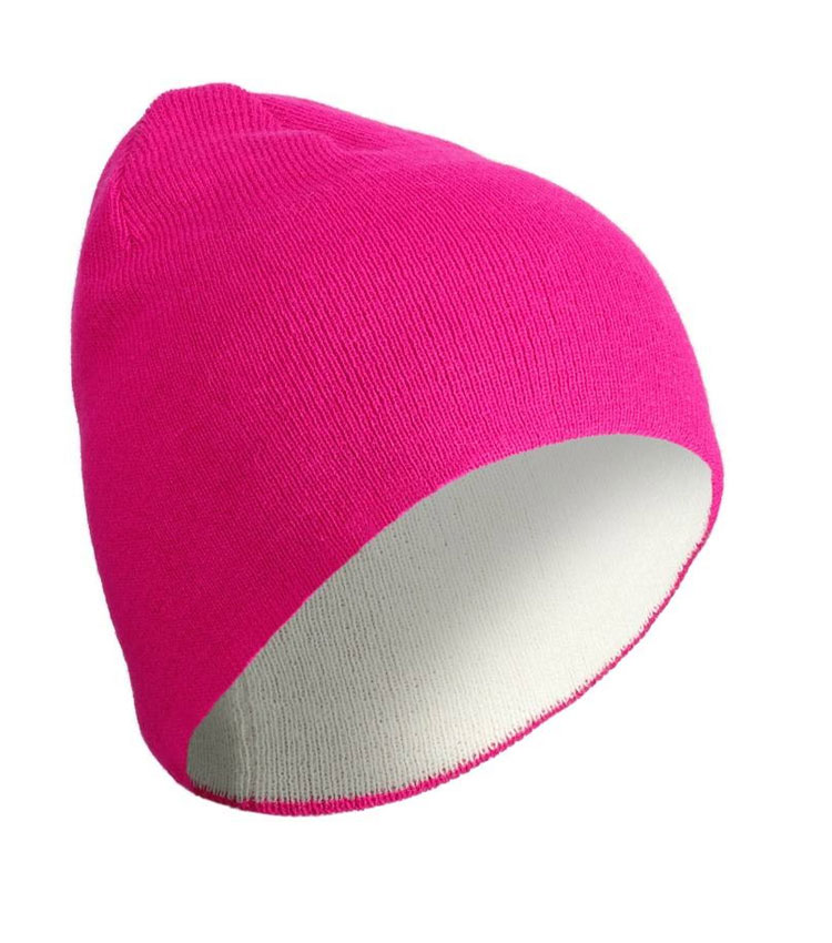 Шапка двухсторонняя WEDZE REVERSE pink-white