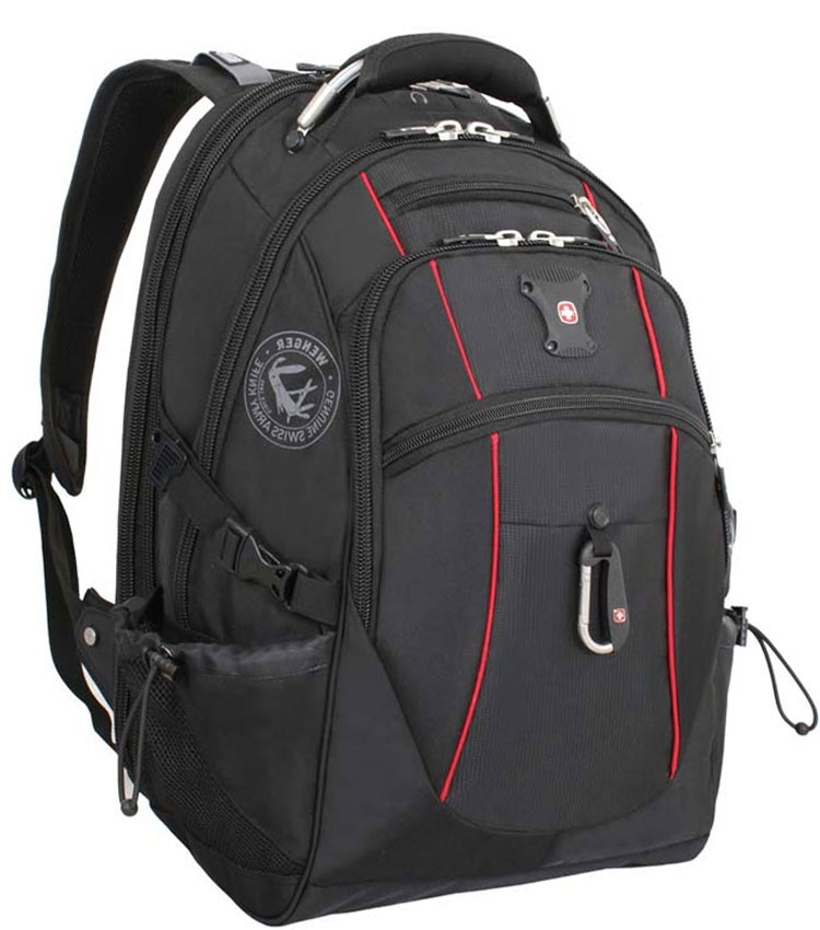 Рюкзак Wenger SA6677 black-red