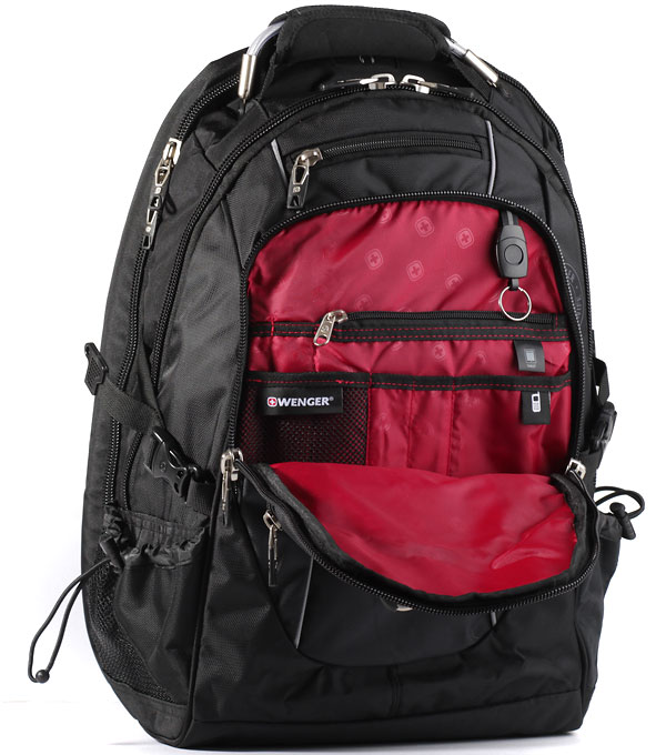 Рюкзак Wenger SA6677202408 black-red