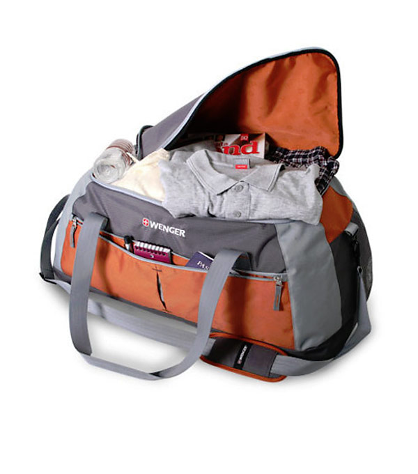 Сумка Wenger Duffle SA1385 orange-grey