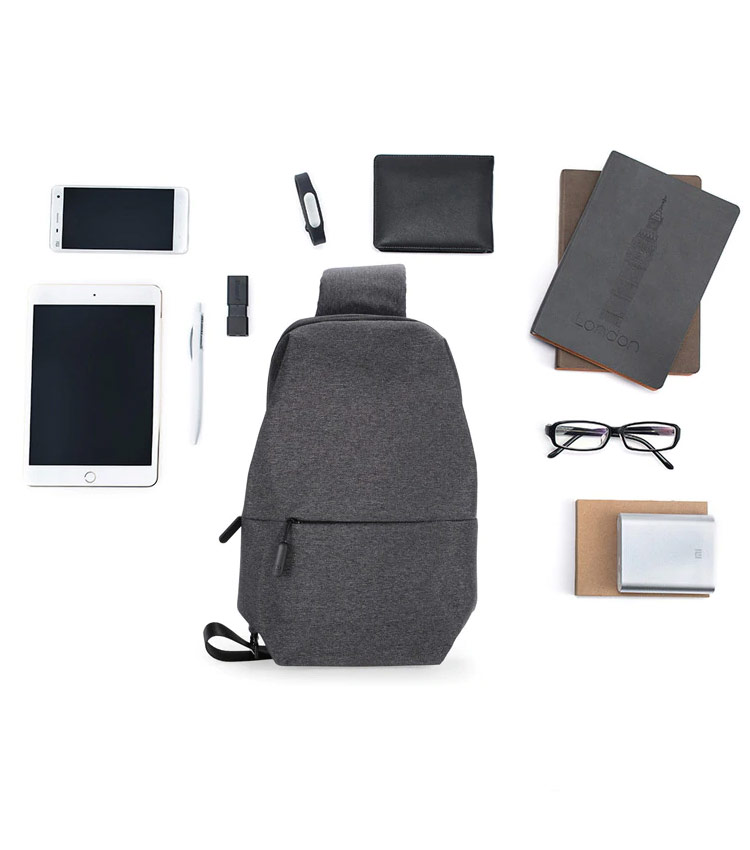 Рюкзак Xiaomi Mi City Sling Light Grey