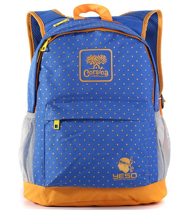 Рюкзак Yeso Corsica blue-yellow