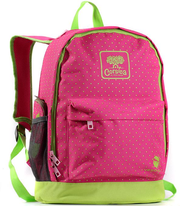 Рюкзак городской YESO Corsica pink