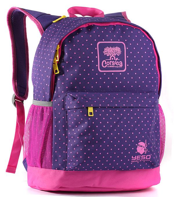 Рюкзак Yeso Corsica purple-pink