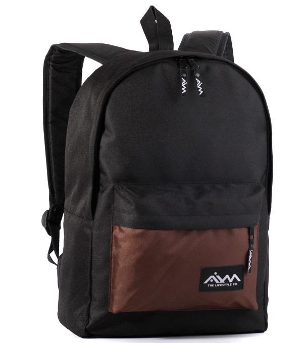 Рюкзак Aim Classic black-brown