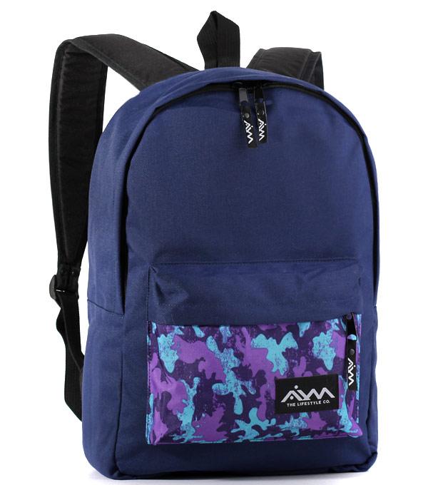 Рюкзак Aim Classic Spot purple-blue