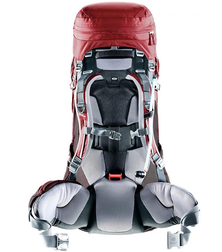 Туристический рюкзак Deuter Aircontact PRO 60 +15 lava-anthracite