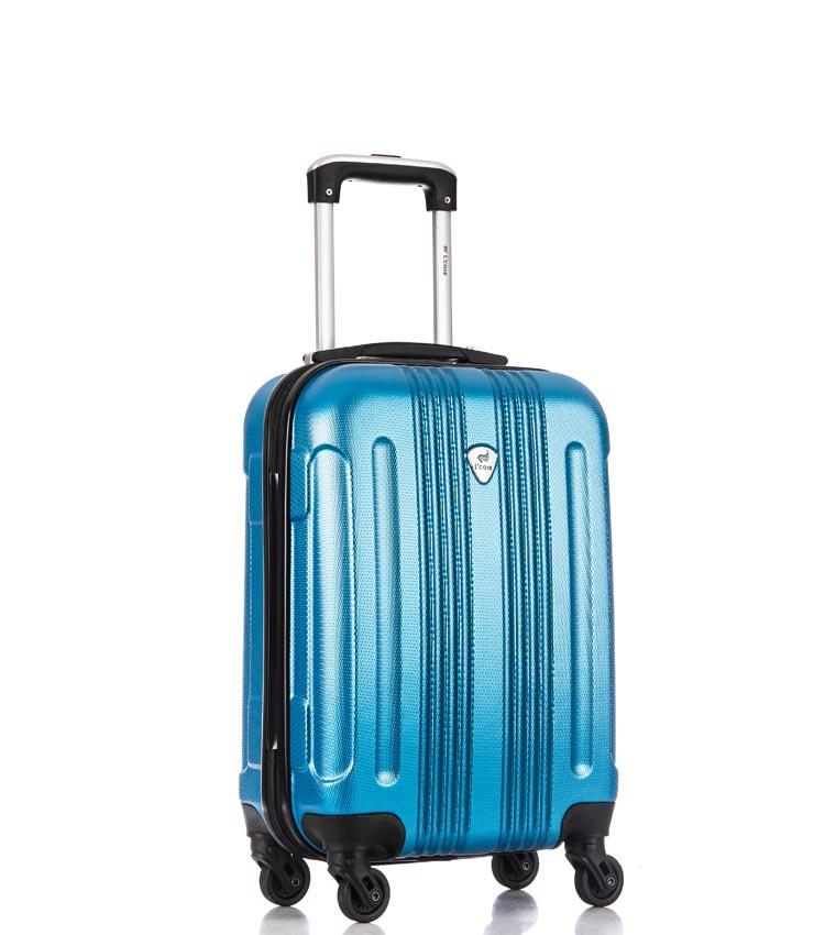 Малый чемодан спиннер Lcase Bangkok blue (55 см ~ручная кладь~)