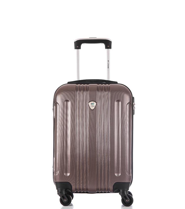 Малый чемодан спиннер Lcase Bangkok coffe (55 см ~ручная кладь~)