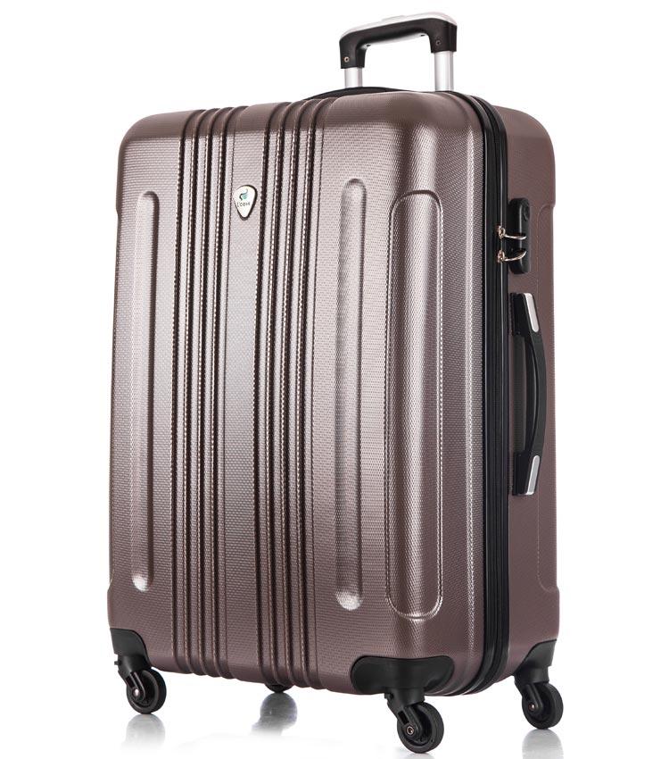 Большой чемодан спиннер Lcase Bangkok coffe (72 см)
