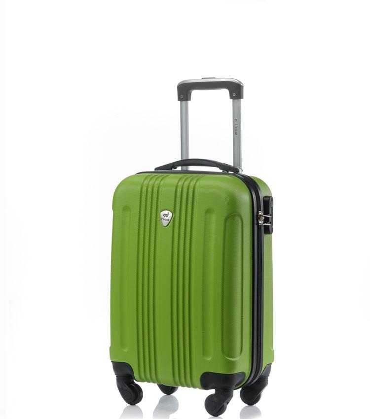 Малый чемодан спиннер Lcase Bangkok green (55 см ~ручная кладь~)