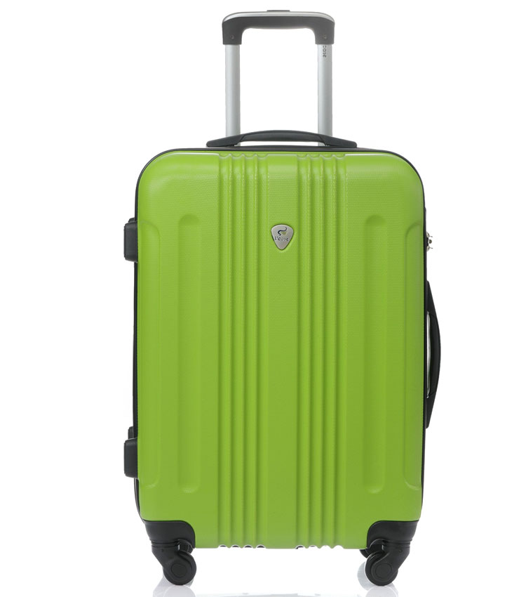 Средний чемодан спиннер Lcase Bangkok green (63 см)