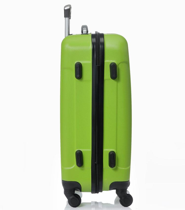 Большой чемодан спиннер Lcase Bangkok green (72 см)