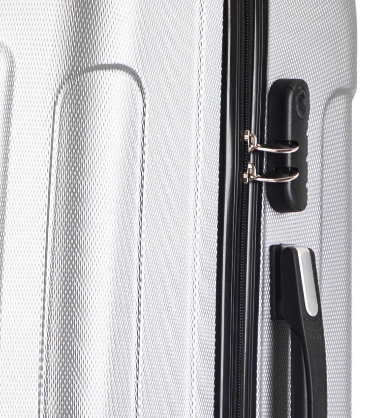 Малый чемодан спиннер Lcase Bangkok light-grey (55 см ~ручная кладь~)
