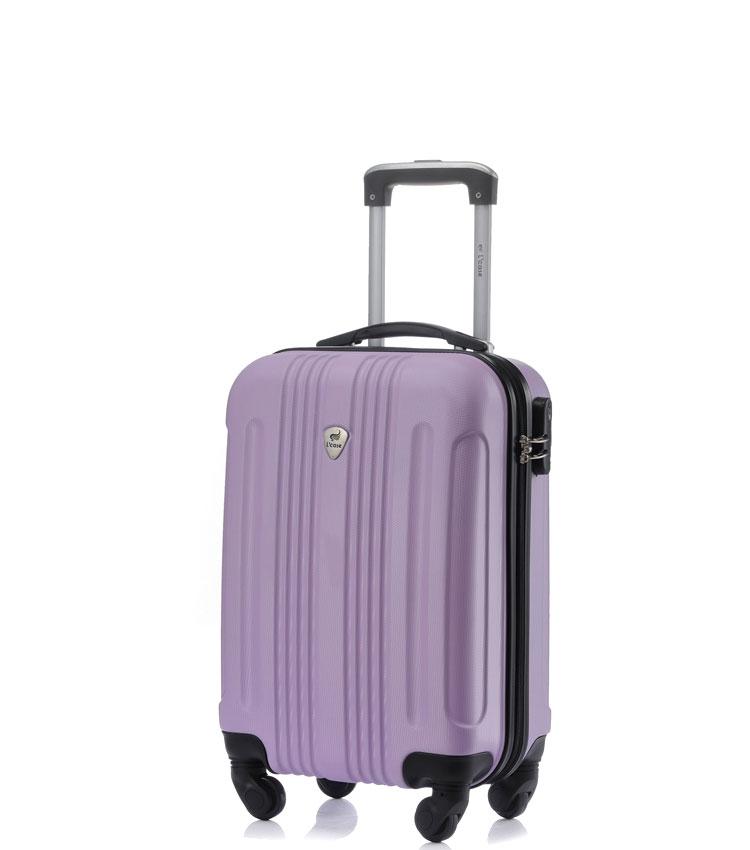 Малый чемодан спиннер Lcase Bangkok lilac (55 см ~ручная кладь~)