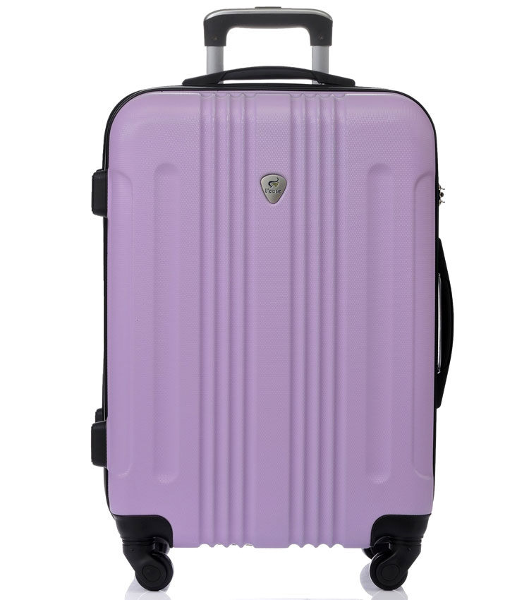 Большой чемодан спиннер Lcase Bangkok lilac (72 см)