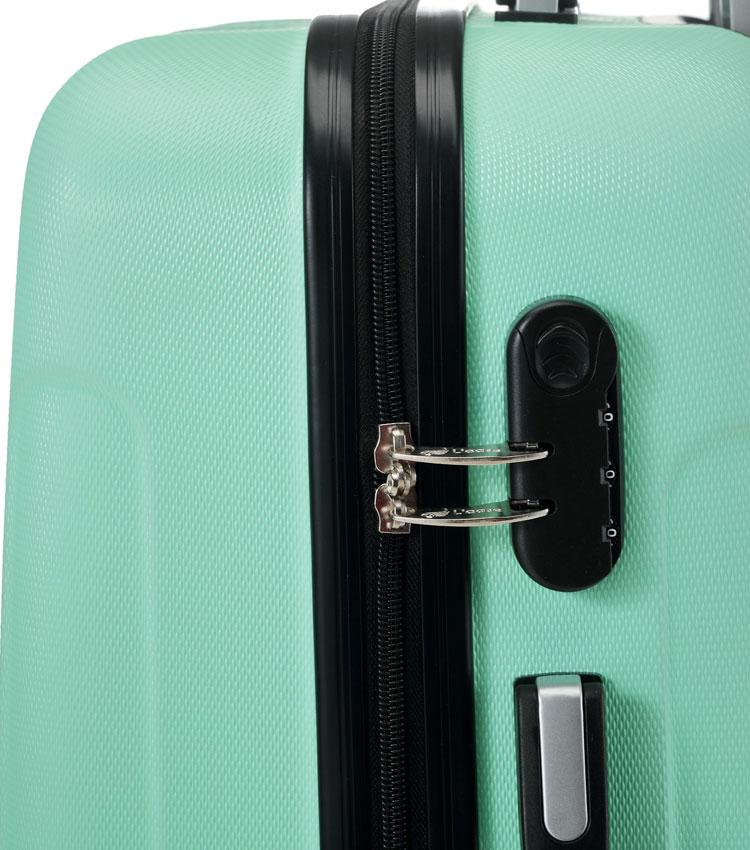 Средний чемодан спиннер Lcase Bangkok mint (63 см)