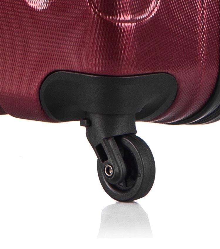 Средний чемодан спиннер Lcase Bangkok wine (63 см)