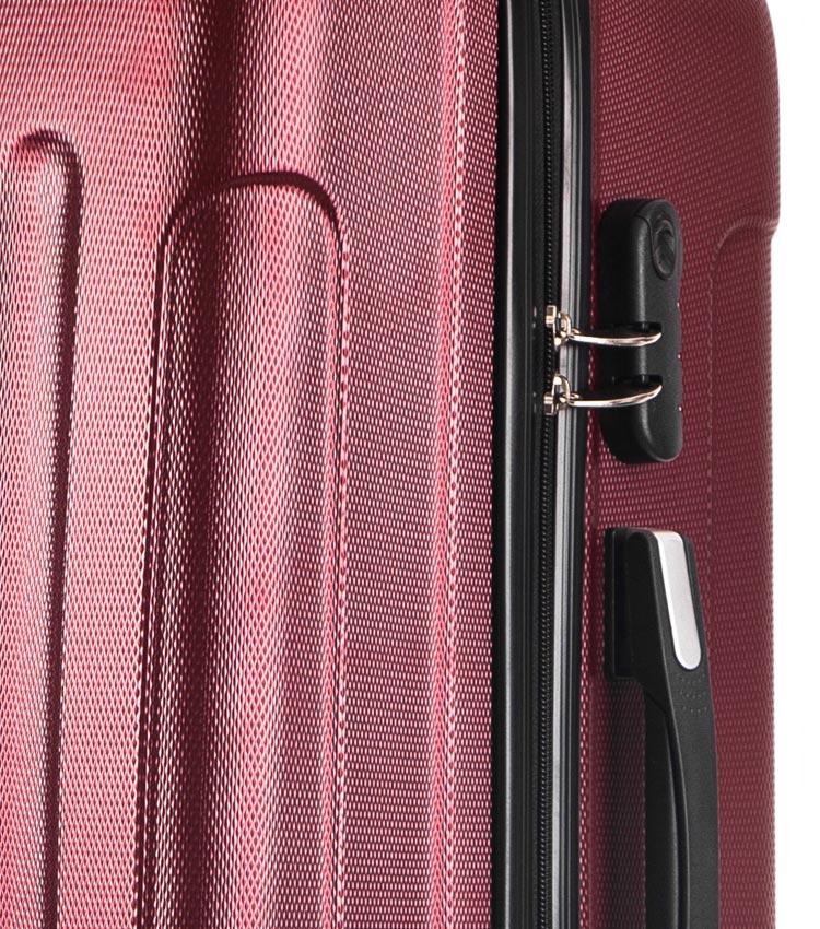 Большой чемодан спиннер Lcase Bangkok wine (72 см)