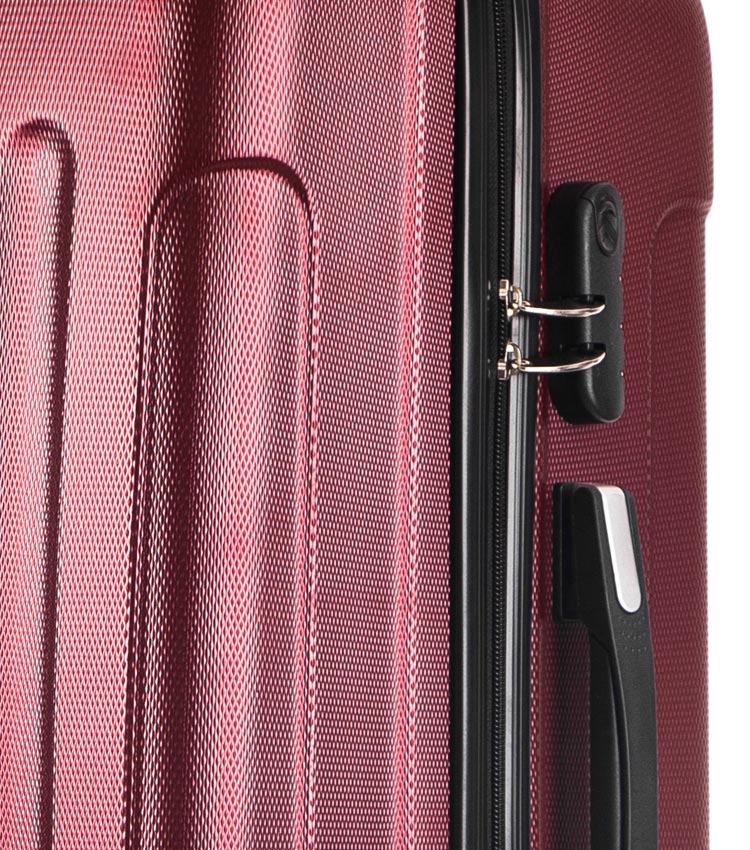 Большой чемодан спиннер Lcase Bangkok purple (72 см)