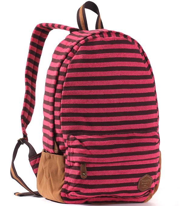 Рюкзак Bonjour stripe pink