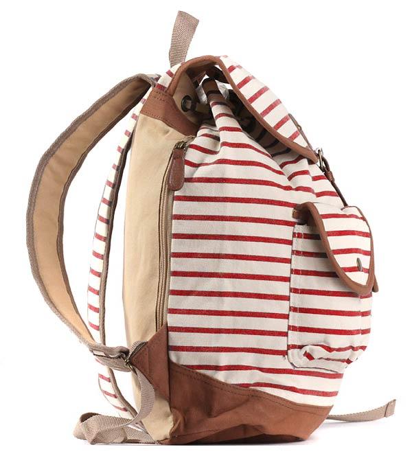 Рюкзак Bonjour Vigtour stripe red