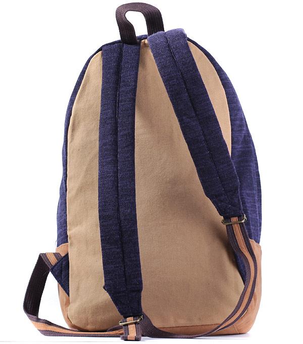 Рюкзак Bonjour velvet dark-blue