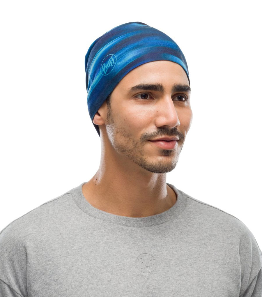 Шапка Buff Reversible Microfiber Shading Blue