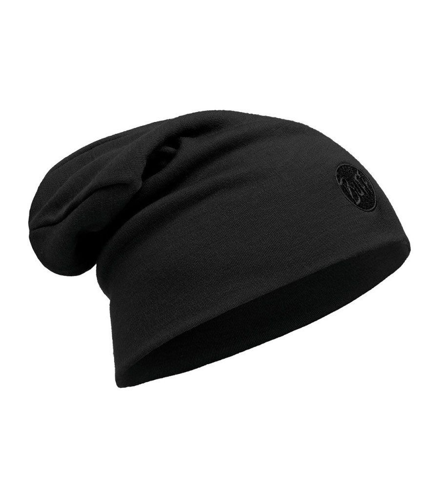 Шапка Buff Midweight Merino Wool Hat Solid Black