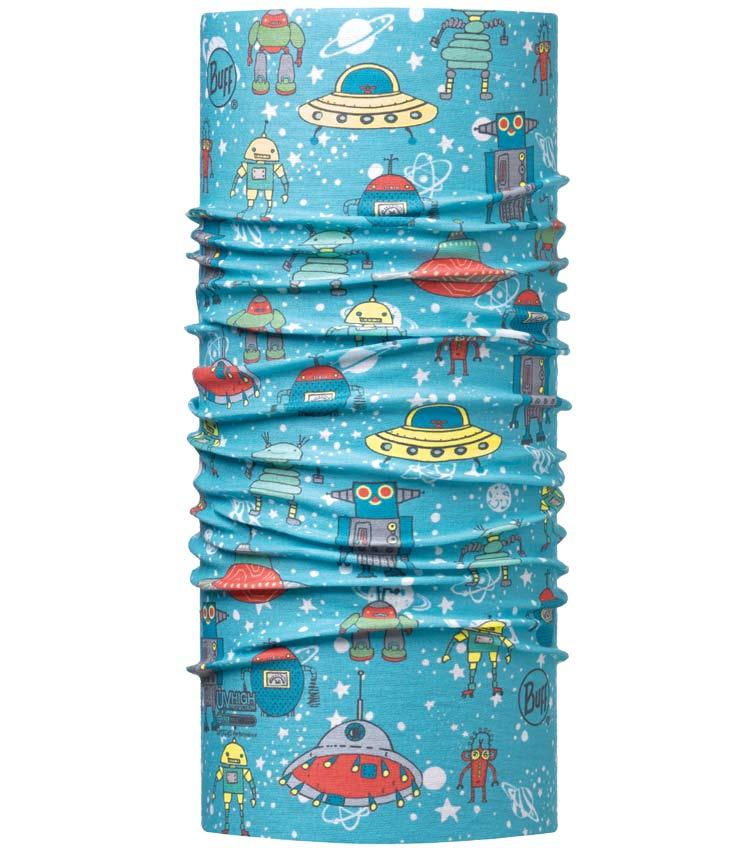 Бандана Buff Junior Space Robots Blue