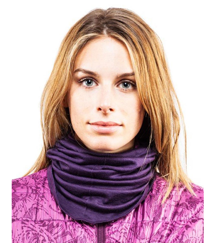 Шарф-труба Buff Wool Lightweight Merino Hank-Plum