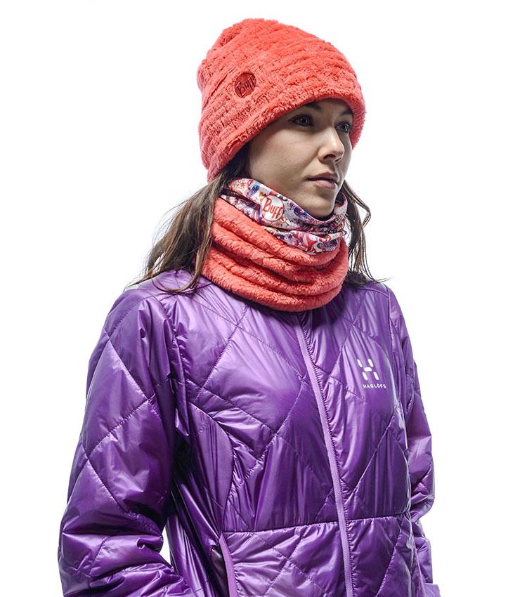 Шарф-бандана Buff Polar thermal Atinna-Blush-Cayenne
