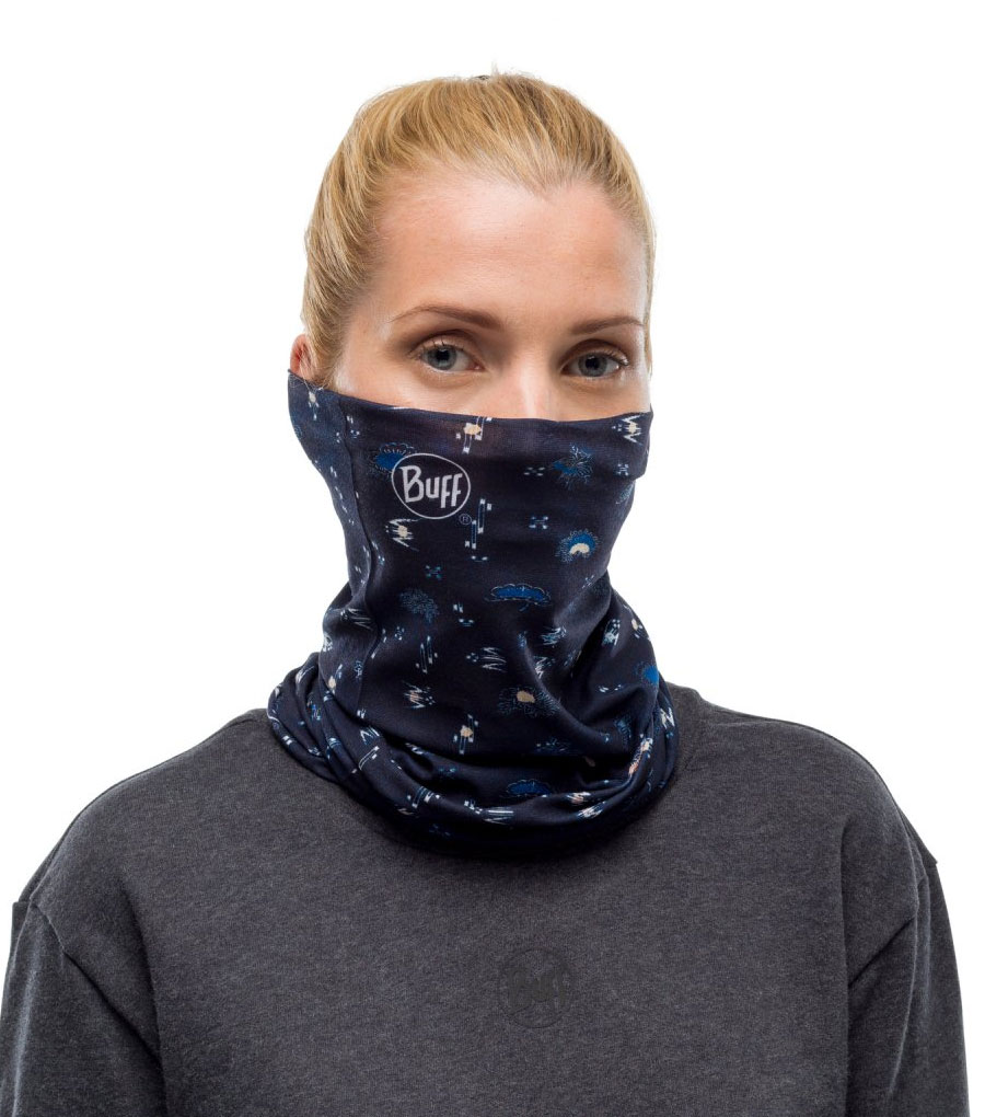 Шарф-труба Buff Polar Reversible Umeboshi Blue