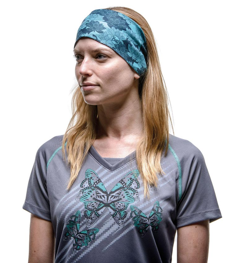 Бандана Buff High UV Protection NG Tabby Turquoise