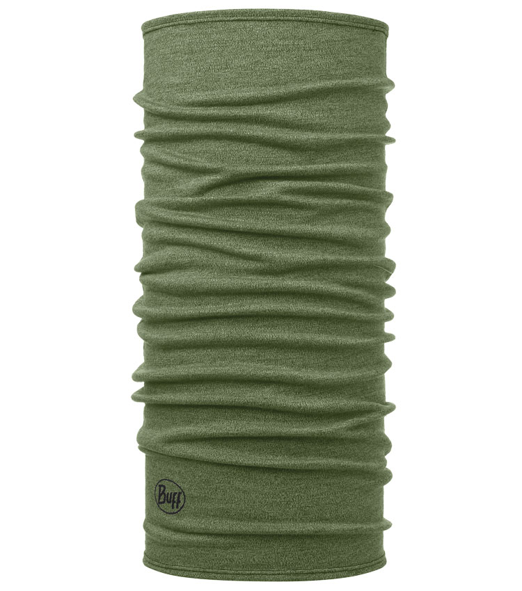 Шарф-труба Buff Wool Midweight Light-Military-Melange