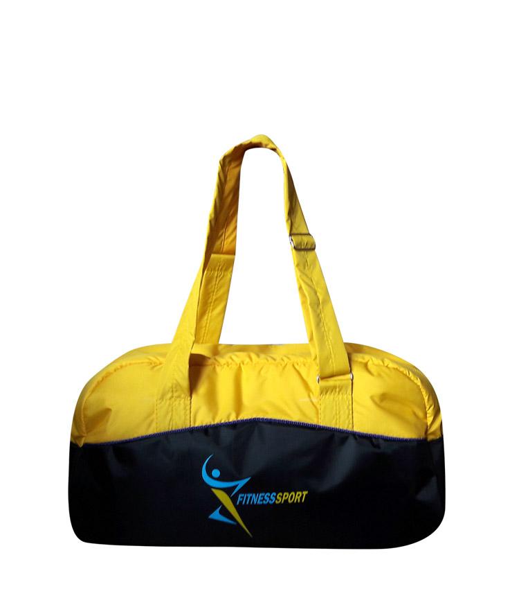 Спортивная сумка Capline FitnesSport black-yellow