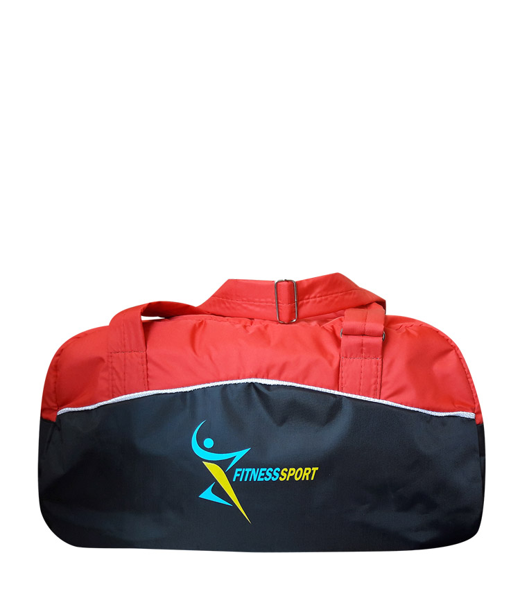 Спортивная сумка Capline FitnesSport black-red