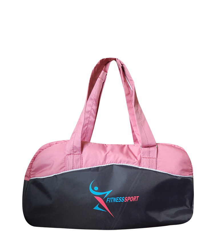 Спортивная сумка Capline FitnesSport gray-pink